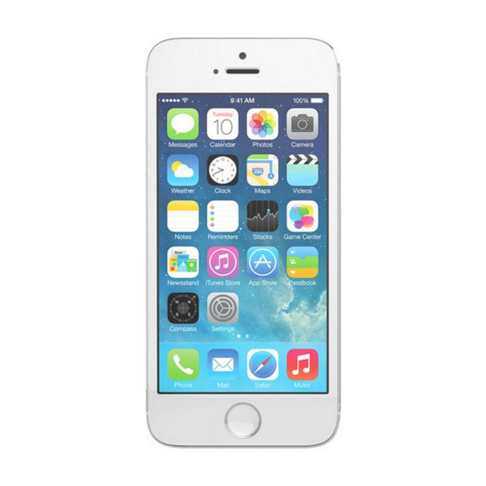 O2, 16GB Apple iPhone 5s Silver