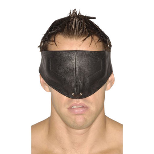 Strict Leather Upper Face Mask-SM S/M BDSM Masks - Strict Leather