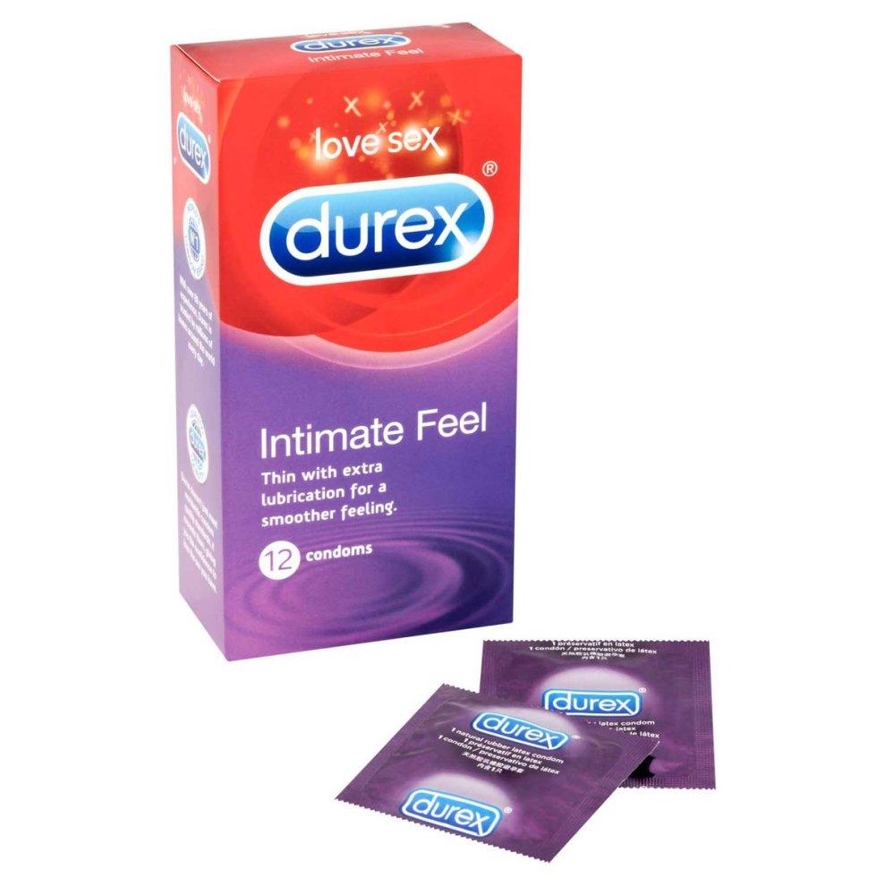 Pack Of 12 Durex Intimate Feel Elite Condoms