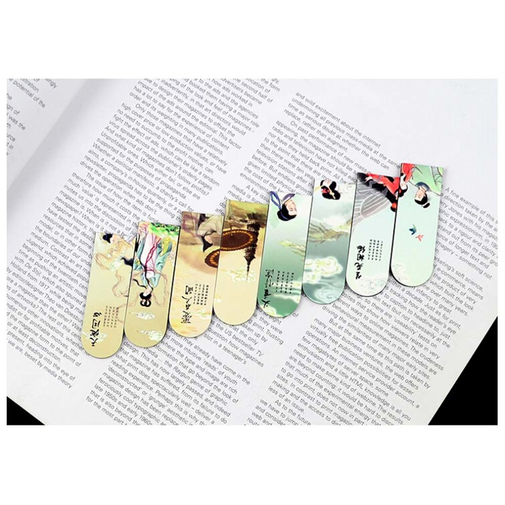 Chinese Ancient Love Stories Magnetic Bookmark/Page Clip,Legend of White  Snake