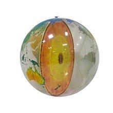 "Inflatable Earths Core Globe, 34"" Diameter"