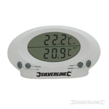 Silverline Indoor/outdoor Thermometer -50?c To +70?c