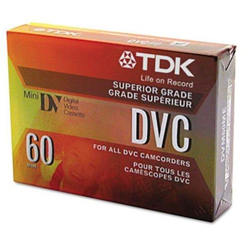 TDK 37140 Mini Digital Video Cassette- 60 Minutes