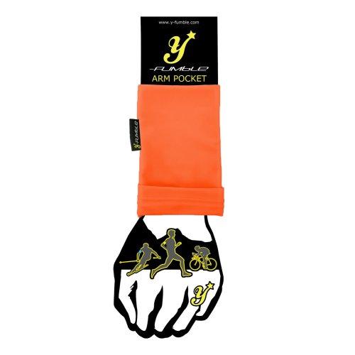 Orange Y-Fumble Pocket Large