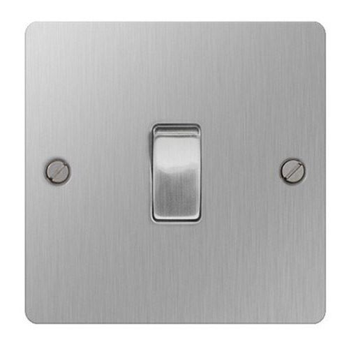 British General SBS13 Stainless Steel Light Switch Intermediate