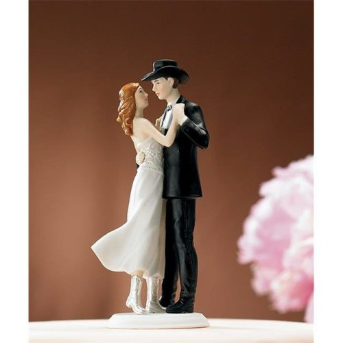 Weddingstar 8514   A Sweet Western Embrace   Cake Topper