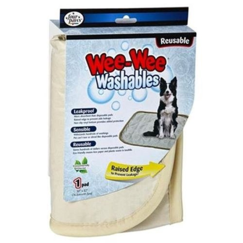 45663015794 Four Paws Wee-Wee Washable Pads Large 30X32
