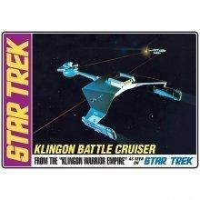 A-amt720 - Amt Model Kit - Star Trek - Klingon Battle Cruiser