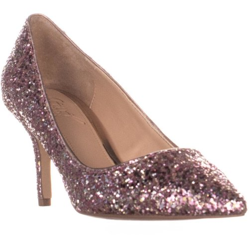 Jewel by Badgley Mischka Lyla Slim Heel Pumps, Rose Gold, 6 UK