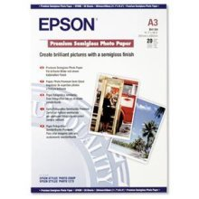 Epson Premium Semigloss Photo Paper, DIN A3, 251g/m2, 20 Sheets photo paper