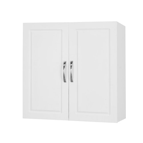 SoBuy® FRG231-W, Kitchen Bathroom Double Door Wall Cabinet Storage