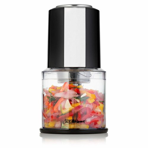 Sensio Home Mini Food Chopper/Processor - 600ml Blender Bowl - 300W