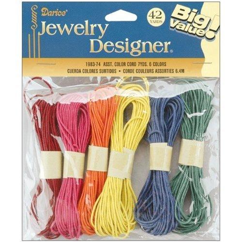 Darice Jewelry Designer Color Cords 42ydAssorted