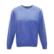 ProQuip Golf Julia Ladies Lambswool Sweater Crew Neck Jumper Bluebell Medium