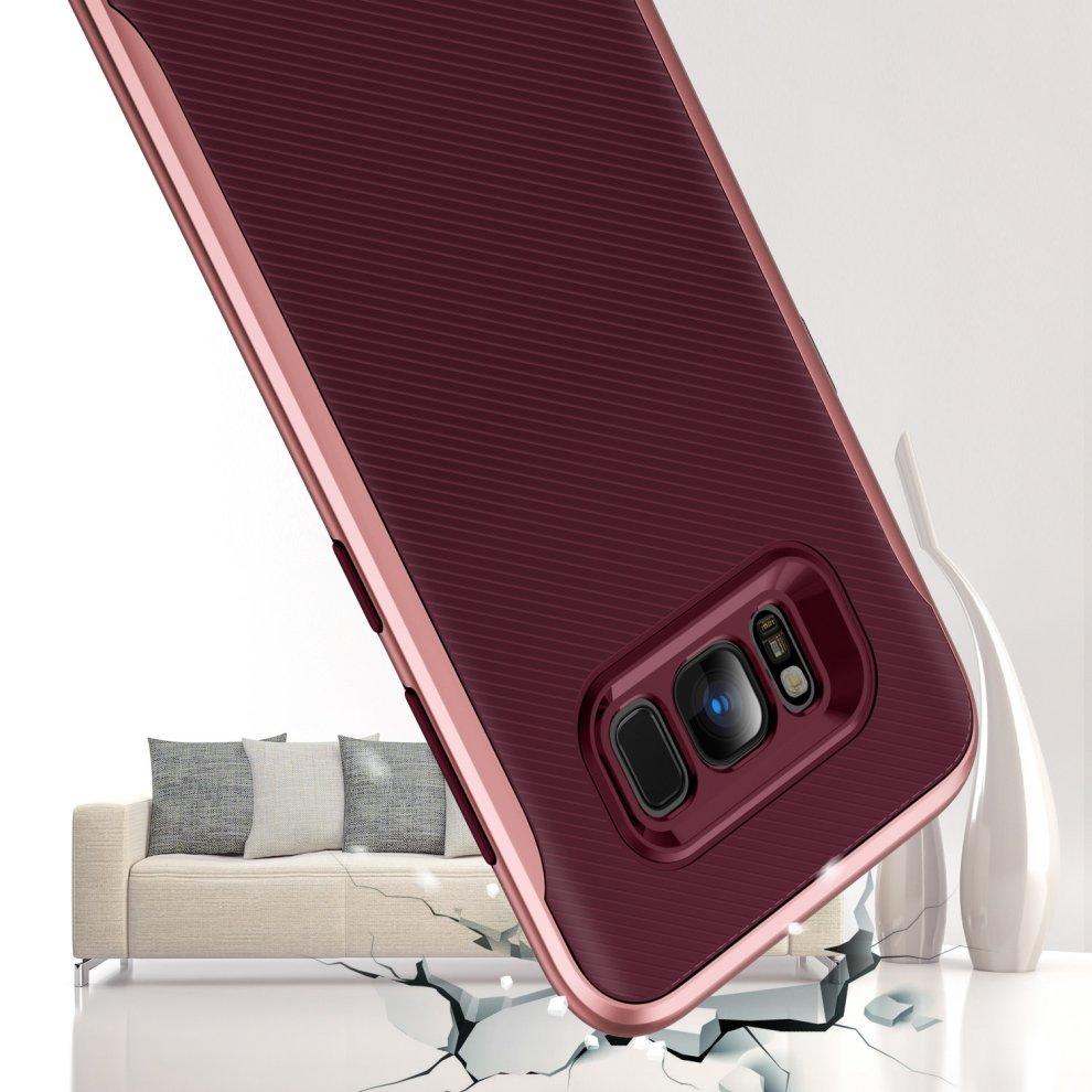 premium selection 2d4c0 e9133 TORRAS Samsung Galaxy S8 Case, 2 in 1 Hybrid Anti Fingerprint Slim ...