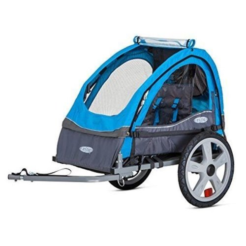 InStep 12-QE104A Sync Single Trailer, Blue