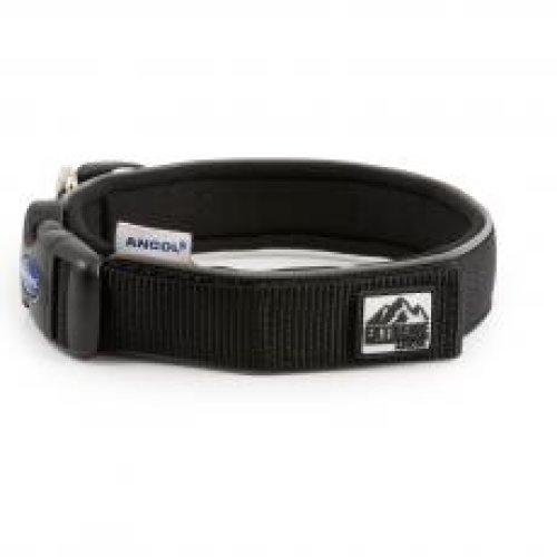 Extreme Nylon Padded Collar Black Size 4 34-40cm