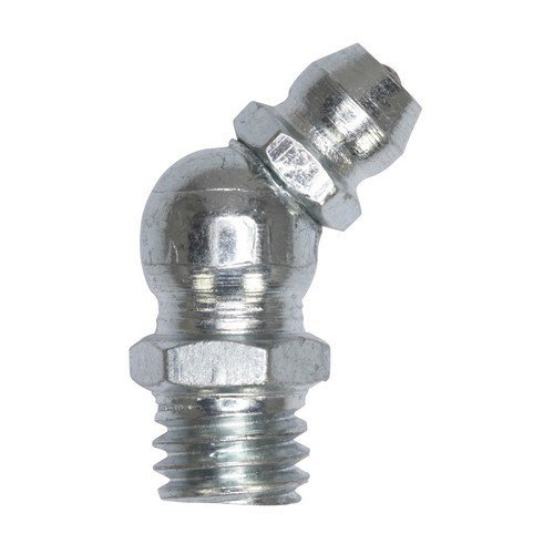 """Sealey GNI12 Grease Nipple 45° 1/4""""BSP Gas Pack of 25"""