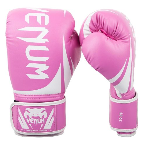 Venum Challenger 2.0 MMA Boxing Bag Fight Training Gloves Pink/White