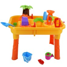 deAO Sand & Water Table Set | Table & Accessories for Toddlers