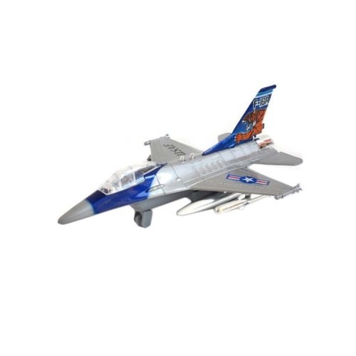 Children's Aircraft Model Toys Simulation Fighter / Airliner Boy Gift_F16#1