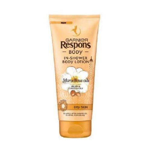 Garnier Respons In Shower Body Lotion for Dry Skin 200ml