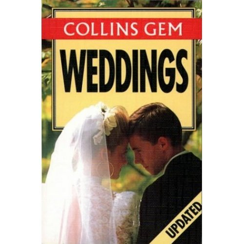 Collins Gem - Weddings (Collins Gems)
