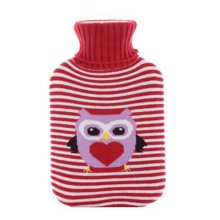 Warm Cute Hot-Water Bottle Water Bag Water Injection Handwarmer Pocket Cozy Comfort,B