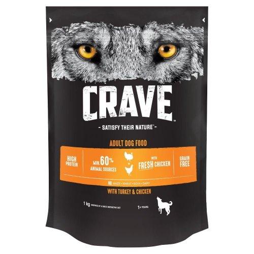 CRAVE Dog Complete With Turkey & Chicken 3x1kg