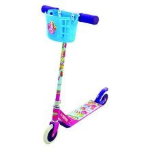 Shopkins Collectible In Line Scooter - With 6 Collectible Shopkins