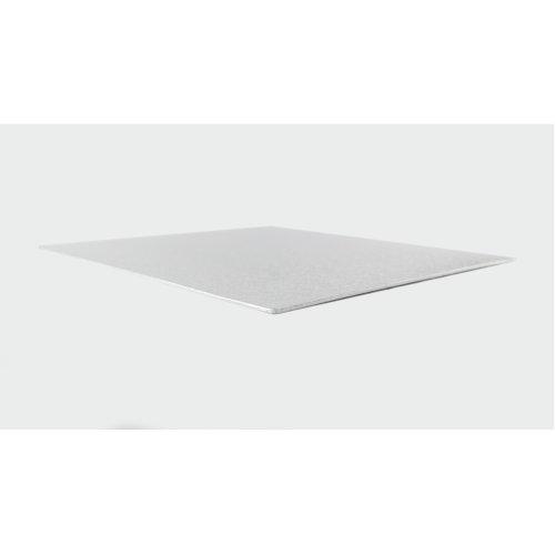 "16"" Thin Silver Square Cake Board 3mm Thick"