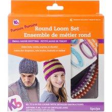 Knitting Board Premium Round Loom Set-