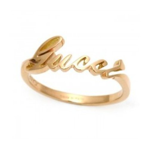 GUCCI RING GUCCI 18KT ROSE GOLD size 16 201955 J8500 5702