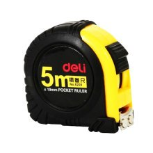 Tape Measure with Magnetic End Hook,Metric Inch Dual System,5m/16 Ft