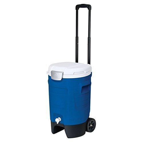 Igloo Sport Roller Beverage Cooler Majestic Blue 5 Gallon