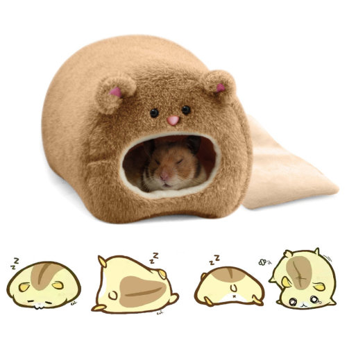Pet Plush Hammock For Ferret Rat Hamster Squirrel