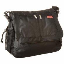 Skip Hop Via Messenger Changing Bag (black) - Black Diaper Tech Unisex Pad Daddy -  bag skip hop messenger changing black via diaper tech unisex pad