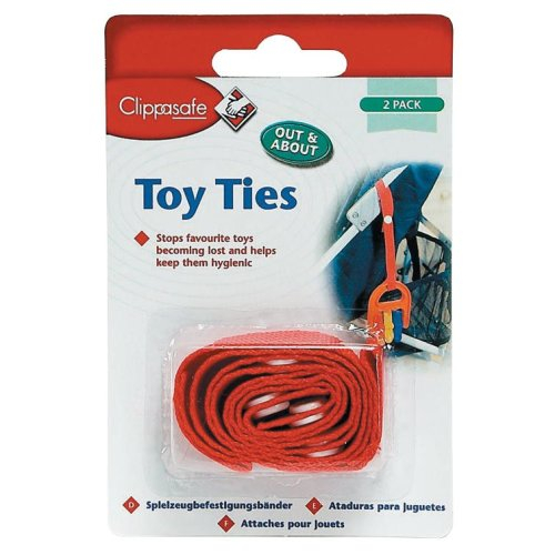 Clippasafe Toy Ties (2 Pack)