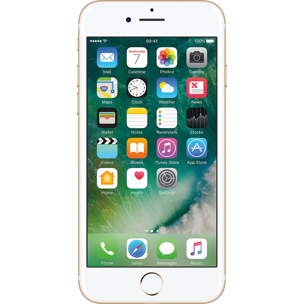 O2, 128GB Apple iPhone 7 - Gold