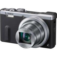 Panasonic Lumix DMC-TZ60 18.1 MP Compact Digital Camera - Silver