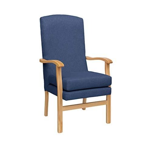 MAWCARE Deepdale Ortopaedic High Seat Chair - 21 x 20 Inches [Height x Width] in Highland Navy (lc48-Deepdale_h)