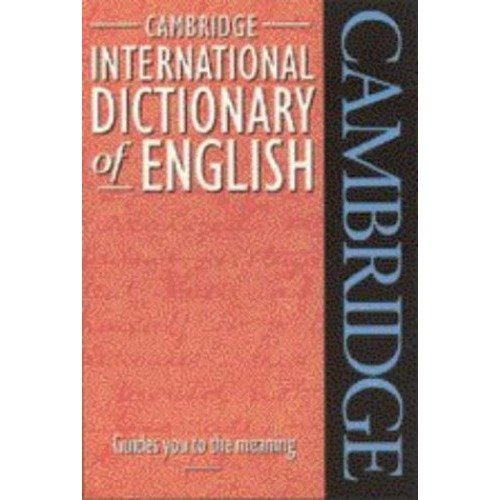 Cambridge International Dictionary of English Flexicover