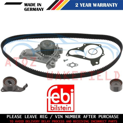 FOR TOYOTA PICNIC 2.0 TIMING CAM BELT WATER PUMP KIT FEBI GERMANY 1996-2001
