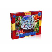 Waddington's 1000pc The Christmas Snowman Puzzle | 1000pc Christmas Puzzle