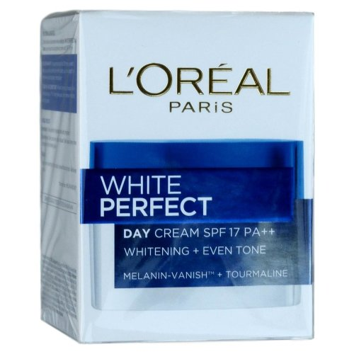 L'Oreal White Perfect Day Cream Tourmaline Skin Whitening SPF 17 20ml