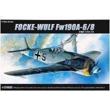 Aca12480 - Academy 1:72 - Fw190a 6/8 Focke Wulf