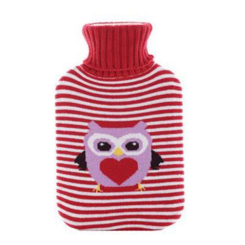 Warm Cute Hot-Water Bottle Water Bag Water Injection Handwarmer Pocket Cozy Comfort,B