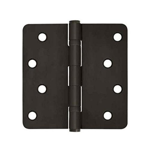 4 x 4 x 0.25 in. Radius Hinge Steel-US15A