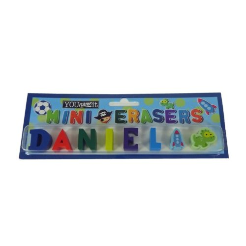 Childrens Mini Erasers - Daniel