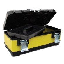 Stanley 26 Inch Metal/Plastic Toolbox